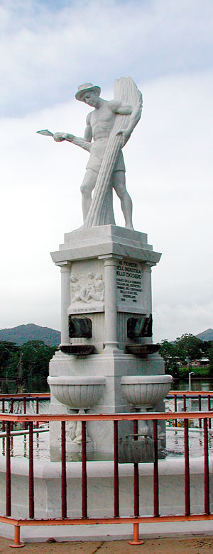 The Canecutter Monument, Innisfail